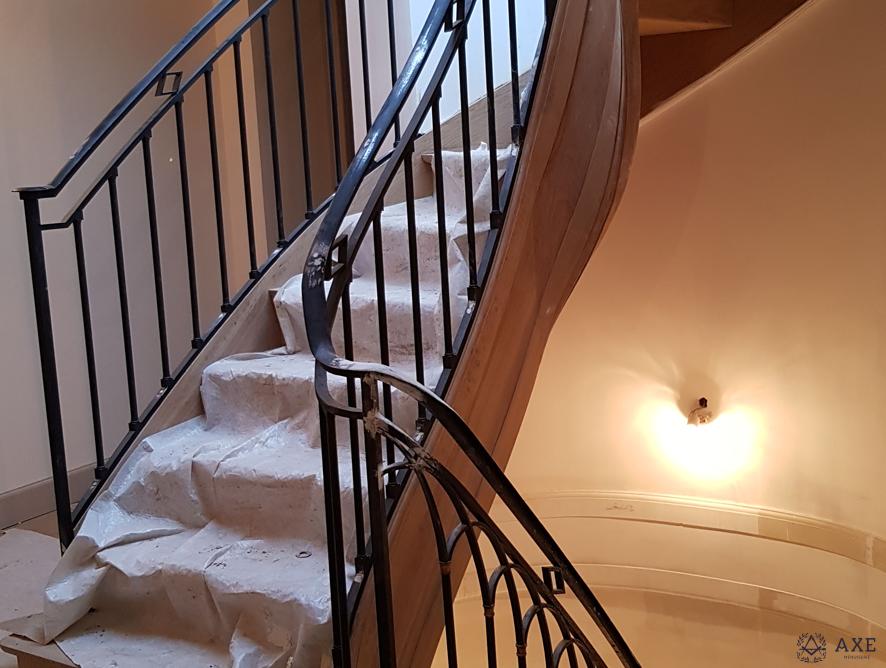 escalier tournant sur-mesure